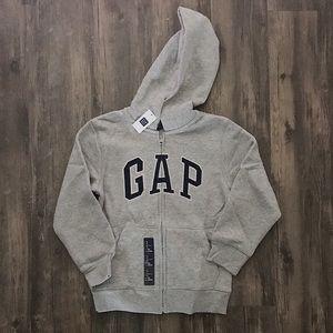 Boys GAP Zip Hoodie :: Size S